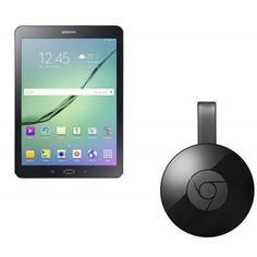 "SAMSUNG Galaxy Tab S2 9.7"" Tablet & Chromecast Bundle - 32 GB, Black"