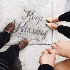 Love   Relationship   Keep kissing   Goals
