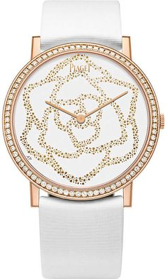 PIAGET Altiplano rose-gold and diamonds watch #ad