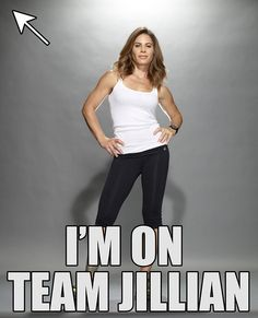REPIN if you'd want to be on #TeamJillian. #BiggestLoser
