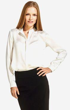 Biała koszula damska LAMBERT DL09LB8403