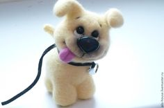 Купить Гав- коллекция - собака, собачка, собака игрушка, собака из шерсти, собака валяная, щенок