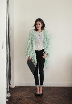#trend #cardigan #dahong #best item #knit cardigan
