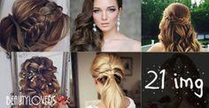 Peinados elegantes para ocasiones especiales. Blonde Bobs, Hair Dos, Cute Hairstyles, Media Cola, Hair Beauty, Dreadlocks, Hair Styles, Ideas Para, Origami