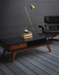 Classic Modern Coffee Table. Made To Order In Your Choice Of Colors.  Features Hand