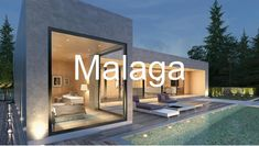 Neutral, modern concrete meets a minimalist aesthetic. Casas Containers, House Goals, Minimalist Home, Modern House Design, Exterior Design, Future House, Interior Architecture, Concrete Architecture, Luxury Homes