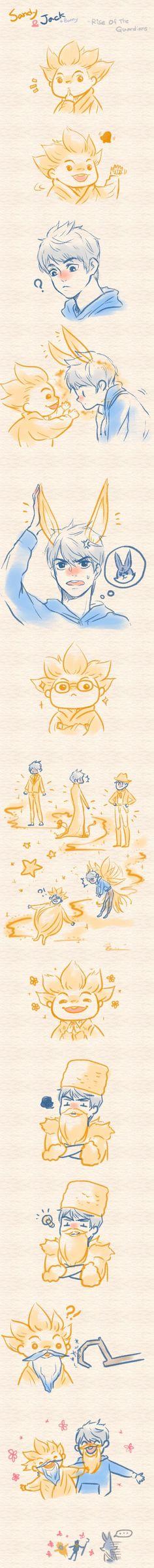 Jack Frost et le marchand de sable