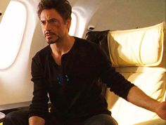 "Tony Stark (RDJ), ""Iron Man 2"". ""Where do you think I've been for 3 hours?"""