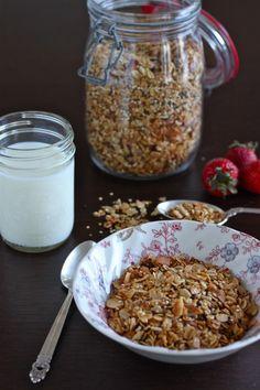 Must Make!!   Maple Quinoa Granola - The Corner Kitchen