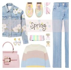 """Spring"" by rasa-j ❤ liked on Polyvore featuring Chinti and Parker, Goldsign, Rebecca Taylor, Roger Vivier, Alice Cicolini, Smith & Cult, STELLA McCARTNEY, Oliver Peoples and womensFashion"