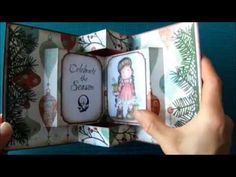 Pop Up Book Card - YouTube
