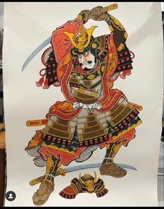 Japanese Art Samurai, Samurai Art, Samurai Warrior, Edo Era, Japanese Tattoo Art, Asian Tattoos, Japan Tattoo, Samurai Tattoo, Japan Fashion