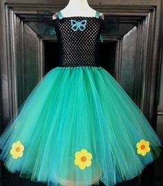 Our take on Princess Anna's dress from the movie short 'Frozen Fever'. Available…