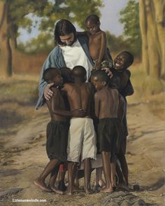 """For All Mankind By Liz Lemon Swindle I was curious how they would react to Phillip, the man playing Christ. When Phillip saw this little boy, the little boy ran to him. He began speaking, Phillip couldn't understand. One of the others translated. """"My mom & dad died. They are in heaven. Have you seen them?"""" That's when I knew it wasn't hopeless. I realized the Savior could fix all problems. Visit my blog to read more…"""