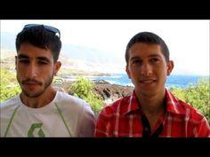 Corredores de montaña: Pablo Villa y Manuel Merillas entrevistados por Mayayo en Transvulcania