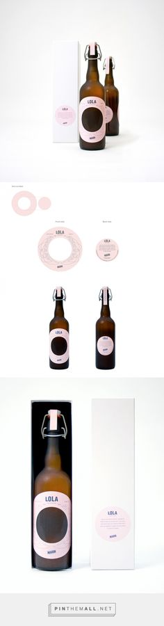 Lola by Maier fights against breast cancer - label design by Grupo Ingenio (Spain) - http://www.packagingoftheworld.com/2016/08/lola-by-maier.html