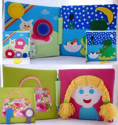 Personalized Busy book eco-friendly quiet book by HappyMumToys