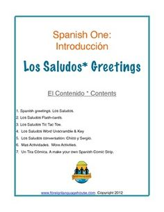 Spanish greetings farewells and basic introductions thematic unit spanish i greetings m4hsunfo