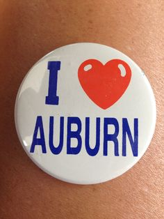 Wore this Dads last football game he coached in 1992~ Auburn vs Alabama