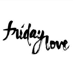 #Friday #Love ✌️