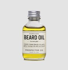 Burroughs Beard Oil, taking care of all your hair.