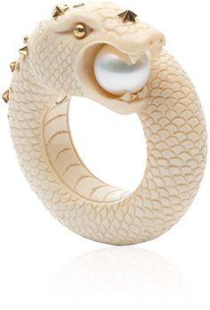 #Moda Operandi            #ring                     #Snake #Ring #Bibi #Velden #Moda #Operandi          Sea Snake Ring by Bibi van der Velden - Moda Operandi                                                   http://www.seapai.com/product.aspx?PID=324222