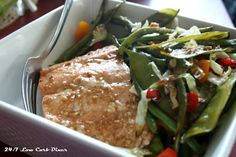 It is back to school for me. Back to quick lunches and a communal fridge. That takes some planning. This September issue of the Dine. Teriyaki Salmon, Prepped Lunches, High Protein Low Carb, Easy Meal Prep, Low Carb Recipes, Prepping, Pork, September, Beef