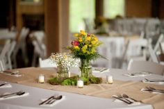 Rustic Wedding Centerpiece #rusticwedding #weddingtips http://brieonabudget.com/pinterest/