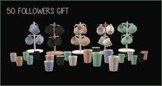 TS2 | Moxxa's Secret Santa Mugs & Cups recolored #riekus13