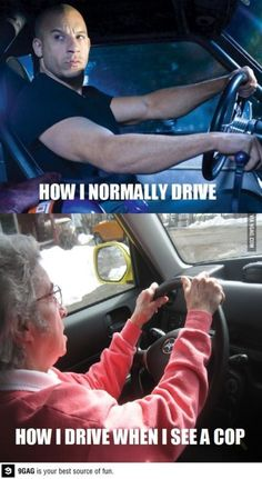 Funny pictures with captions entertain people more. These are the 31 hilarious pictures with funny captions you must see. Car Jokes, Funny Car Memes, Car Humor, Truck Memes, Hilarious Sayings, Truck Quotes, Police Humor, Hilarious Animals, 9gag Funny