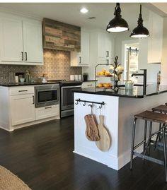 Einrichten Und Wohnen, Rund Ums Haus, Traumhaus, Ideen, Küchenrenovierung,  Ideen Für Die Küche, Küchenschränke, Kücheninsel, Shanty 2 Chic, Küchen  Layouts, ...
