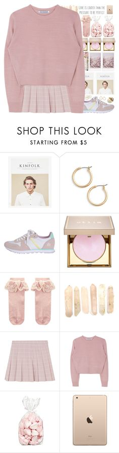 """*be a beautiful marshmallo in a world full of popcorn*"" by my-black-wings ❤ liked on Polyvore featuring Kinfolk, Nordstrom, Stila and Monsoon"