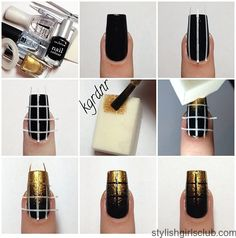 This easy nail art design step by step tutorial will help you understand what it takes to do nail art with easy to follow images.
