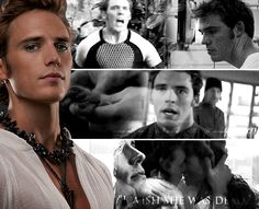 So that's who Finnick loves, I think. Not his string of fancy lovers in the Capitol. But a poor, mad girl back home.