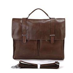 Brown Men s Leather Laptop Messenger Bag. Laptop Messenger BagsVintage ... 722a7dde14