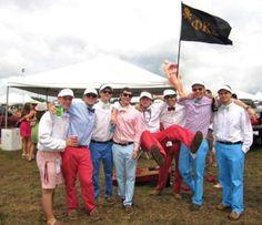 little boys at Lillly Pulitzer's Carolina Cup