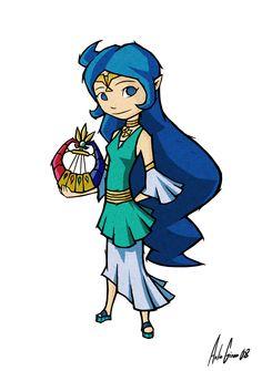 Nayru, Goddess of Wisdom by al305sr