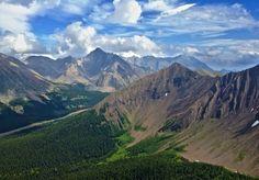"""Highwood Pass""  Kananaskis Alberta Canada"