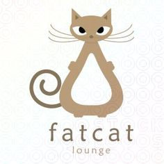Great Logo Design - Fat Cat Lounge
