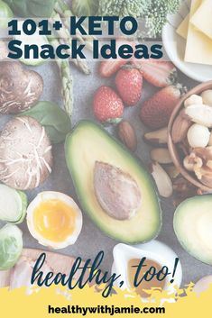 Keto, Low Carb & Gluten Free Healthy Snacks - Healthy with Jamie Gluten Free List, Gluten Free Snacks, Keto Snacks, Healthy Snacks, Workout To Lose Weight Fast, Sugar Free Diet, Keto Lunch Ideas, Healthy Low Carb Recipes, Foods To Avoid