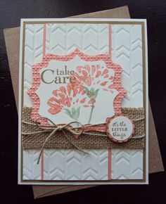 Stampin Up  Lave & Care Card made by Paperecstasy.blogspot.com