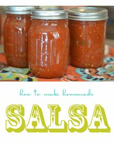 How to Make Salsa (for canning)