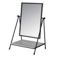 Table Mirror | Paul McCobb | Fritz Hansen | SUITE NY Nordic Interior Design, Scandinavian Design, Mirror Unit, Table Mirror, Home Suites, Marble Shelf, Danish Design Store, Fritz Hansen, Paul Mccobb