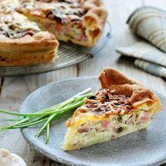 Ook quiches kunnen gebakken worden in de airfryer. Gebruik hiervoor de traditionele springvormen. Vervang gerust een keer de champignons en de ui door zalm en fijn gesneden broccoli, om andere variaties te maken.