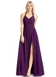 Shop Azazie Bridesmaid Dress - Veronica in Chiffon. Find the perfect made-to-order bridesmaid dresses for your bridal party in your favorite color, style and fabric at Azazie.