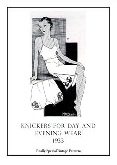 Round up of patterns for French Knickers