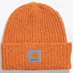 Carhartt anglistic beanie orange