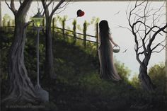 """""""My Heart Must Go On"""" Miniature Painting by Artist Philippe Fernandez – The Art of Philippe Fernandez"""