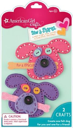 Kids' Sewing Kits - American Girl Crafts Sew and Shares Dogs ** More info could be found at the image url.