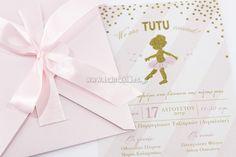 προσκλητήρια βάπτισης για κορίτσι www.rodon.site Tutu, 30, Place Cards, Place Card Holders, Tutus